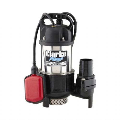 "Clarke HSE301A 2"" Heavy Duty Submersible Pump 300 Litres/Min 110V~50Hz"